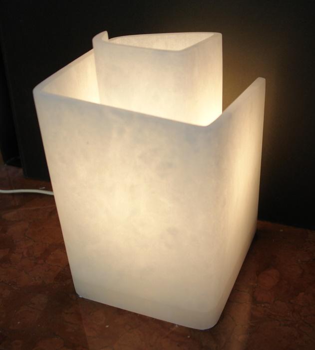 ランプ 渦巻型